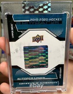 19-20 UD Buybacks Sidney Crosby 17-18 opc Platinum Retro Rainbow 1/1 Auto