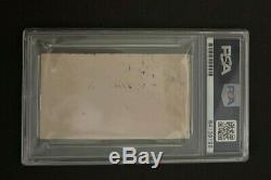 1930's Babe Ruth Signed Cut Signature PSA/DNA 9 New York Yankees HOF