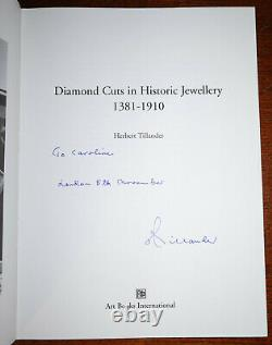 1995 Diamond Cuts in Historic Jewellery 1381-1910 by Herbert Tillander SIGNED