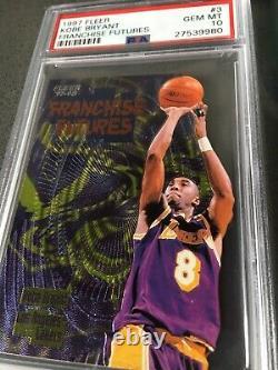 1997 Fleer Kobe Bryant PSA 10 Franchise Futures! POP 10! DIE-CUT! SICK