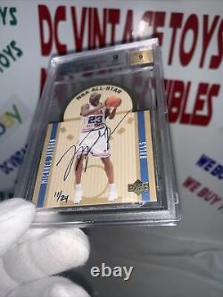 2003 Michael Jordan Ultimate Buyback Sp AllStar Die Cut BGS 9With9 Auto#11/24