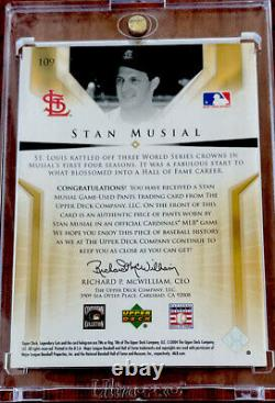 2004 Upper Deck Legendary Cuts Stan Musial Auto One Of One 1/1 Autograph