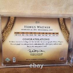 2011 Ud Exquisite Collection Cut Signature Honus Wagner Auto 2/2