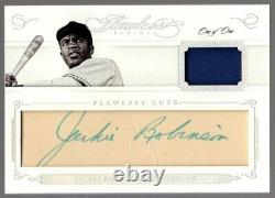 2016 Flawless Cut Autograph Jackie Robinson Game Used Jsy Patch Auto (1/1)