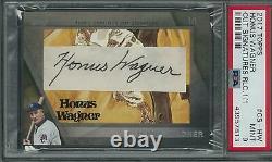 2017 Topps Honus Wagner Cut Autographed Card #1/1 Psa 9 Rare