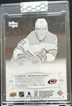 2018-19 Clear Cut- Andrei Svechnikov Rookie Auto, Sealed Rc MINT
