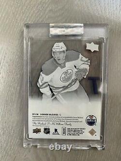 2018-19 Clear Cut Rookie Tribute Connor McDavid Young Guns Auto RT-CM