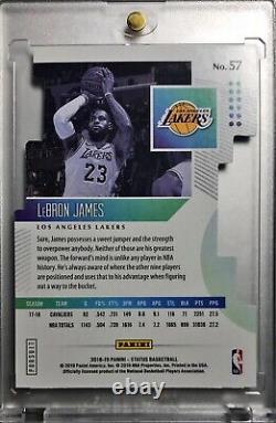 2018-19 Status Lebron James Pursuit Die-Cut Holo Silver SSP Non Auto Lakers