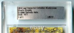2018 Leaf Executive Charlie Chaplin Cut Auto Signed 1/1 PSA DNA JSA BECKETT BAS