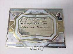 2019 Topps Transcendent President Theodore Roosevelt 1/1 Auto Signed Cut