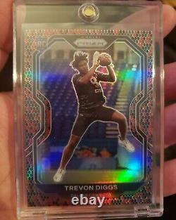 2020 Prizm Snake Skin Trevon Diggs SSP Rookie! Dallas Cowboys RC CB! Non Auto