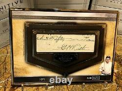 2020 Topps Transcendent 1/1 Babe Ruth Cut Autograph Auto GOAT Yankees SICK! HOF