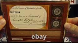 2020 Transcendent Franklin D. Roosevelt (FDR) Cut Signature Card 1/1 Auto RARE