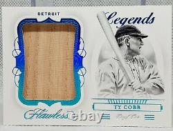 3 X 1/1 Ty Cobb 2020 Ultimate Flawless Master Collection Finest Holy Trinity
