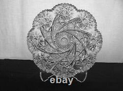 American Brilliant Cut Glass 1-1 Rated Libbey Lenox Aka Comet Signed Antique