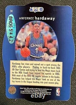 Anfernee Hardaway 1996 SPX Holoview Die Cut Autograph with UDA Rare Auto