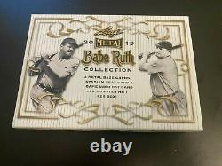 Babe Ruth Cut Auto 1/1! 2019 Leaf Metal Collection Cs-01 Signature Autograph Box