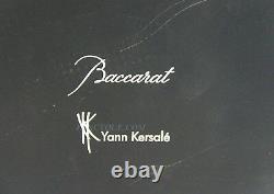 Baccarat Jallum By Yann Kersale Diamond Cut Set Of 4 Lamps Rechargable New Box