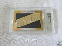 Eddie Collins 2015 Leaf Masterpiece Cut Signature autograph signed card 1/1 PSA