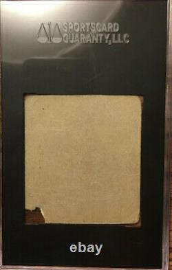 JACKIE ROBINSON 1948 R346 Blue Tint #36 Hand Cut SGC Authentic Rookie Card