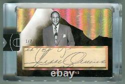 Jesse Owens 2014-15 Panini Eminence Cut Signatures Auto Olympic Sprinter #1/2 SP