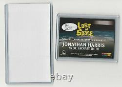 Jonathan Harris as Dr. Smith The Complete LOST IN SPACE Autograph Card Cut JSA