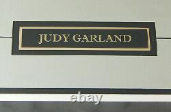 Judy Garland Signed & Framed Autograph Cut With 8x10 Photo JSA LOA