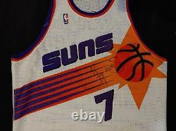 Kevin Johnson Phoenix Suns Authentic Pro Cut Champion Jersey SZ 48 Autographed