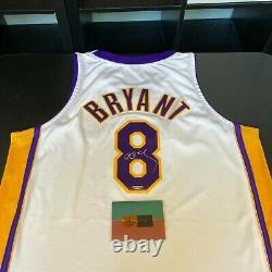 Kobe Bryant Signed 2002-03 Pro Cut Los Angeles Lakers Jersey UDA Upper Deck COA