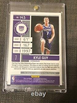 Kyle Guy 2019-20 Panini Contenders Championship Ticket RC Auto #1/1