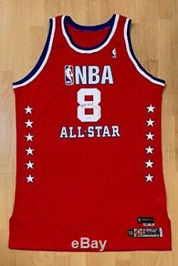 Lakers Kobe Bryant Auto 2003 Nba All Star Game Pro Cut Jersey Signed Psa/dna Pe