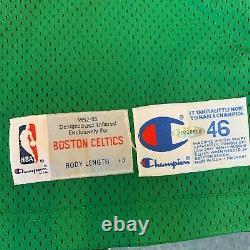 Larry Bird Signed 1992-93 Boston Celtics Pro Cut Game Model Jersey With UDA COA