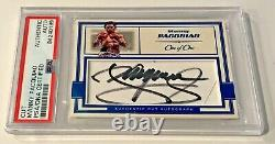 Manny Pacquiao Boxing Champ Signed Auto Custom Cut #'d 1/1 Trading Card PSA/DNA