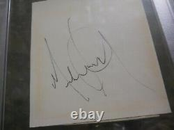 Michael Jackson Signed Cut Signature Psa/dna Certified Authentic Auto Thiller