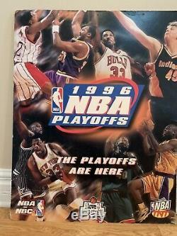 Michael Jordan Autographed NBA 50th Anniversary Pro-cut Jersey/NBAonNBC Posters