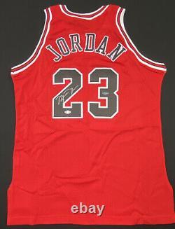Michael Jordan Signed 1995-96 Champion Pro Cut Jersey UDA COA Beckett LOA