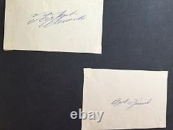 ROBERTO CLEMENTE Pirates Original Authentic Signature Cut Autograph AUTO HOF