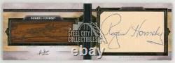 Rogers Hornsby 2020 Topps Transcendent Baseball Cut Autograph Bat Nameplate 1/1