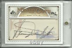 SP Legendary Mystery Cuts Sammy Davis Jr Auto Autograph
