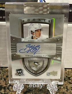 Sidney Crosby 2019-20 19-20 UD Clear Cut Auto 2005-06 The Cup Rookie SSP RC AUTO
