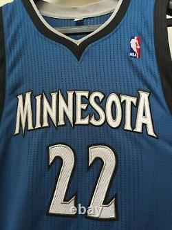 Signed Andrew Wiggins Timberwolves Adidas Pro Cut Rev30 Rookie Jersey Auto Rc