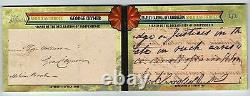 TOPPS HERITAGE AMERICAN HEROES DUAL CUT AUTO BOOK Declaration Of Independence /1