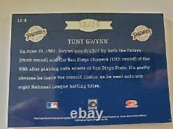 Tony Gwynn 2005 Leaf Limited Limited Cut Auto #10/19