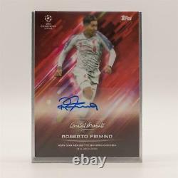 Topps Roberto Firmino Autograph Signed O Jogo Bonito Curated Set Away Win