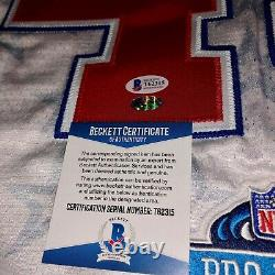 Troy Polamalu Signed Autographed 2007 Pro Bowl Cut Game Issued Jersey-bas Coa