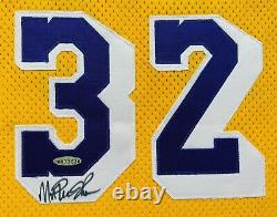UDA Magic Johnson autograph signed Champion Pro Cut Jersey Upper Deck