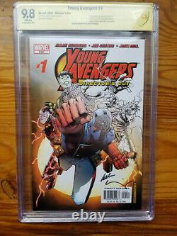 Young Avengers #1 Director's Cut CBCS CGC 9.8 Signed by Allan Heinberg